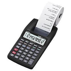 Druckender Tischrechner HR-8TEC 9,9 x 19,6 x 4,1 cm Schwarz