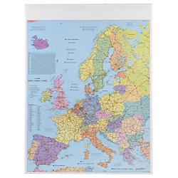 Europakarte, politisch Weiß 97 x 137 cm
