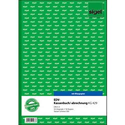 Kassenbuch Steuerschiene 300 DIN A4 2 x 50 Blatt