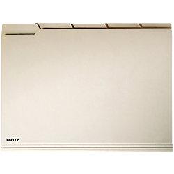 Einstellmapppen Alpha® DIN A4 Braun Natronkarton mit Tab 100 Stück