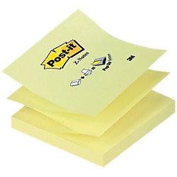 Z-Notes Haftnotizen Gelb Unliniert 76 x 76 x 76 mm 70 g/m² 1 x 100 Blatt