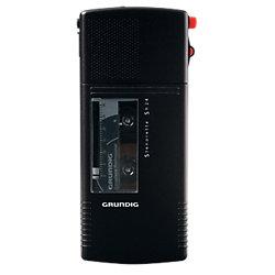 Analoges Diktiergerät Stenorette Sh 24 Schwarz inkl. Sh 24, Transporttasche 811, eine Steno-Cassette 30