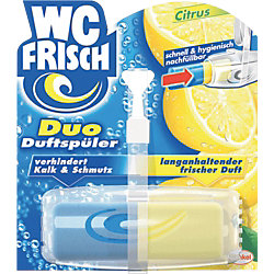 Duftspüler Citrus 75224, gelb anhaltender Duft, blau Kalk/Schmutz