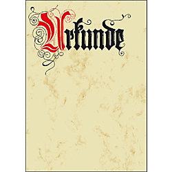 Urkunden DP548, A4, Urkunde, Calligraphie, Inh. 12 Blatt