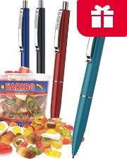 Gratis Haribo Starmix mit Schneider K15 Stiften