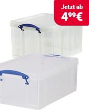 Sparen Sie 50% Really Useful Boxes Aufbewahrungsboxen