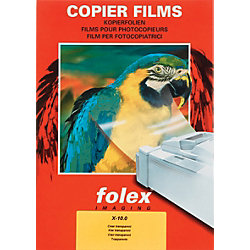 Folien für Normalpapier-Kopierer X-10.0 DIN A4 Transparent 100 Blatt