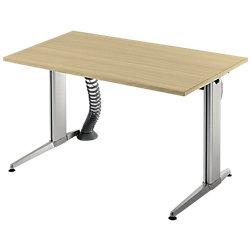 Schreibtisch elektrisch höhenverstellbar Ahorn-Nachbildung 120 x 80 x 70 - 114 cm