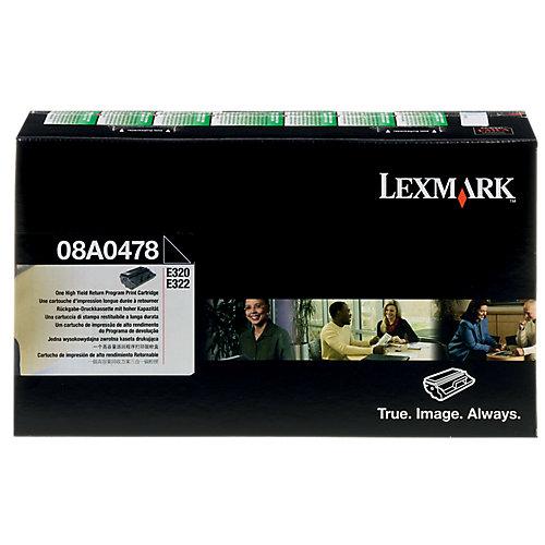 Lexmark Toner E320 E322 zwart HC 08A0478