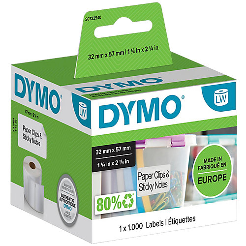 Dymo 11354 - Verwijderbare Multifunctionele Etiketten