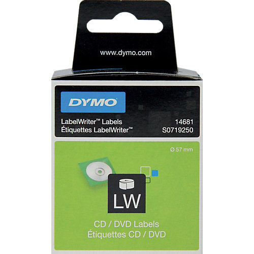Dymo LabelWriter - CD/DVD Labels (1x160)