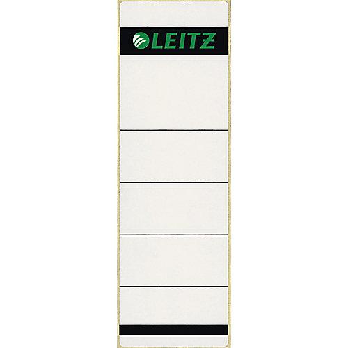 Leitz zelfklevende rugetiketten Wit/Grijs 80 mm 10 Stuks