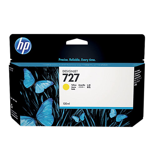HP 727 - Inktcartridge / Geel