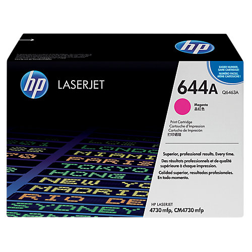 HP 644A - Tonercartridge / Magenta