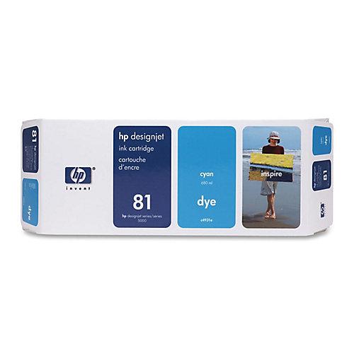 HP 81 - Inktcartridge / Cyaan
