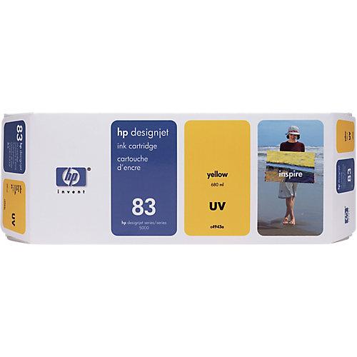 HP 83 - Inktcartridge / Geel
