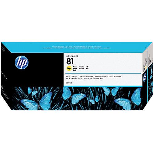 HP 81 - Inktcartridge / Geel