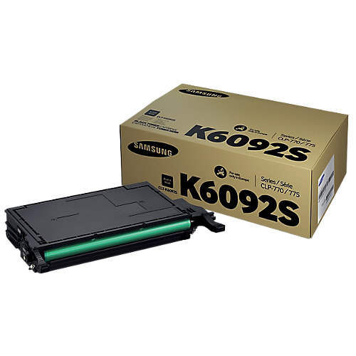 Samsung CLT-K6092S - Tonercartridge / Zwart