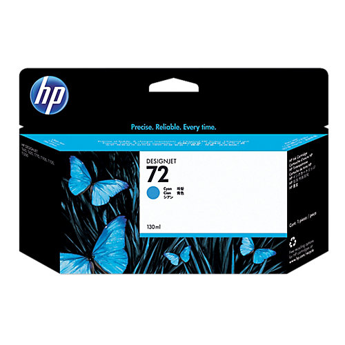 HP 72 - Inktcartridge / Cyaan