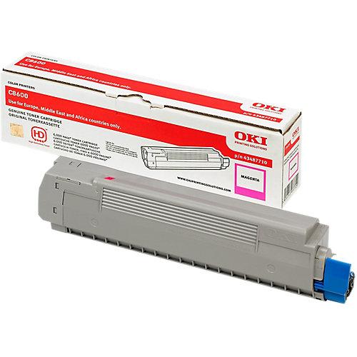 Oki Toner - magenta  voor de C8600 / C8800 (6k)