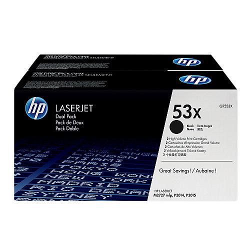 HP Dubbelpak toner »HP Q7553XD«