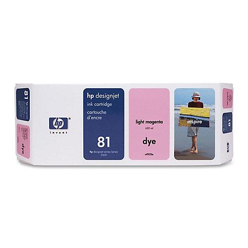 HP 81 - Inktcartridge / Licht Magenta