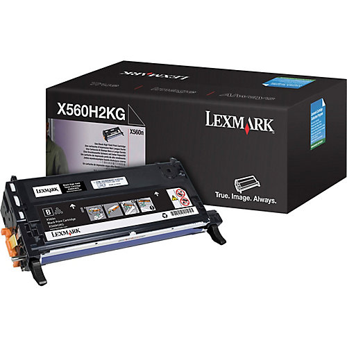 X560 toner cartridge black 10.000 pages