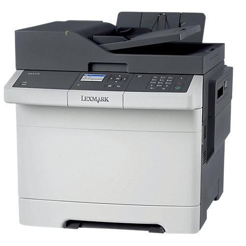 Lexmark CX310n kleurenlaser MFP\A4\50 vel\23 ppm\800 MHz\512 MB\ 0.75K CMYK tonercartridges