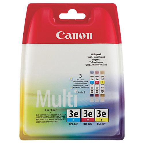 Canon Inktpatronen, multipak van 3 »BCI-3E«