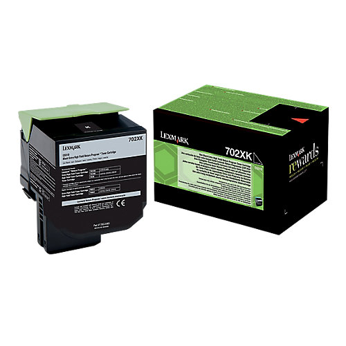 702XK Toner Cartridge 8K Black F/ CS5 Se