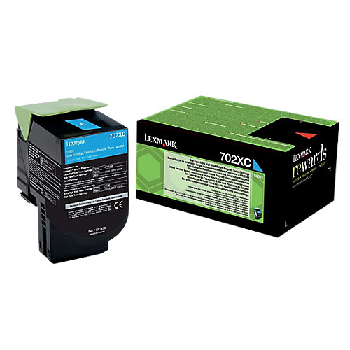 702XC Toner Cartridge 4K Cyan F/ CS5 Ser