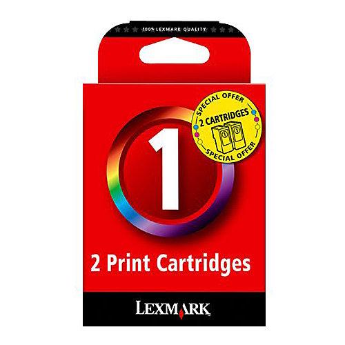 Lexmark Dubbelpak inktpatronen »18CX781« Nr. 1