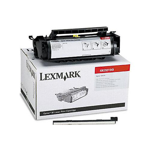 Lexmark 4K00199 tonercartridge Zwart