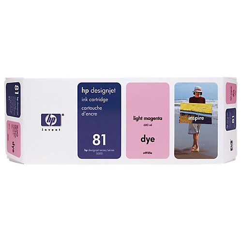 HP 81 - Inktcartridge / Magenta
