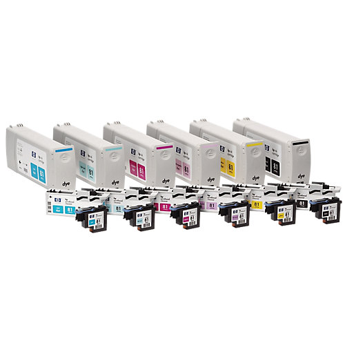 HP 81 - Inktcartridge / Zwart