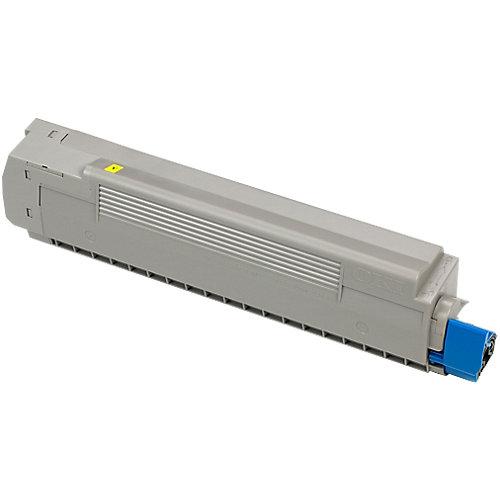 Oki Toner - yellow voor de C8600 / C8800 (6k)