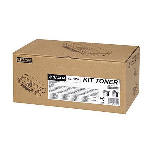 Sagem CTR360 Tonercartridge Zwart