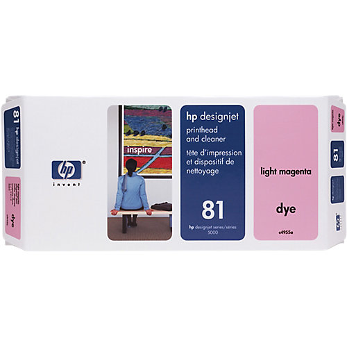 HP 81 - Inktcartridge / Licht Magenta + Cleaner
