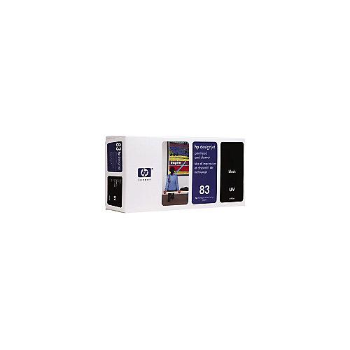 HP 83 - Inktcartridge / Zwart + Cleaner
