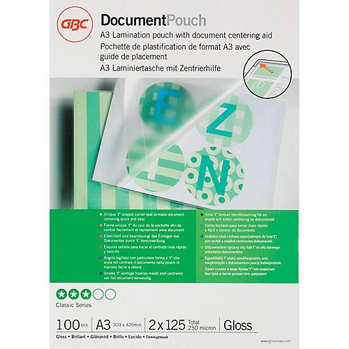 GBC Lamineerhoezen 125 mic A3 (100 Stuks)