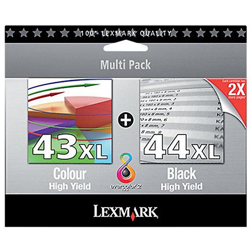 Lexmark Inktpatronenset 18YX143 & 18Y0144« Nr. 43 XL &...