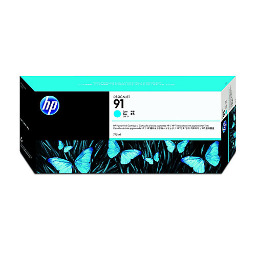 HP 91 - Inktcartridge / Cyaan