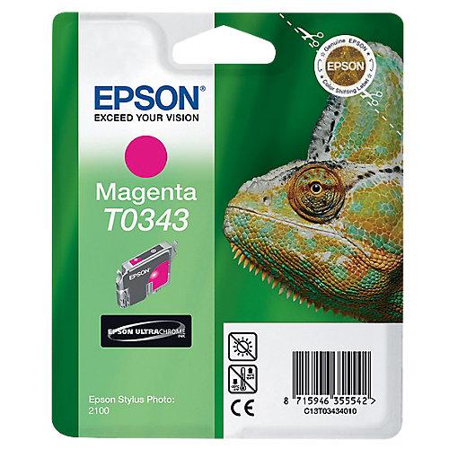 Epson T0343 - Inktcartridge Magenta