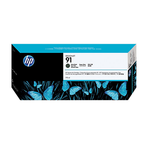 HP 91 - Inktcartridge / Mat Zwart