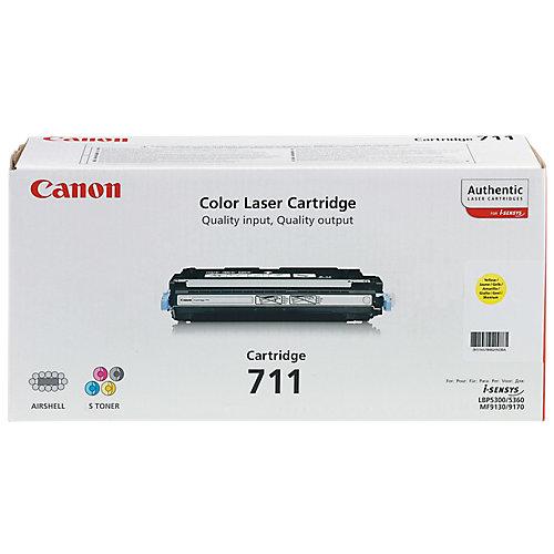 Canon 711 - Tonercartridge / Geel