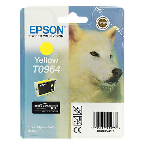 Epson T0964 Yellow Ink Cartridge (geel)
