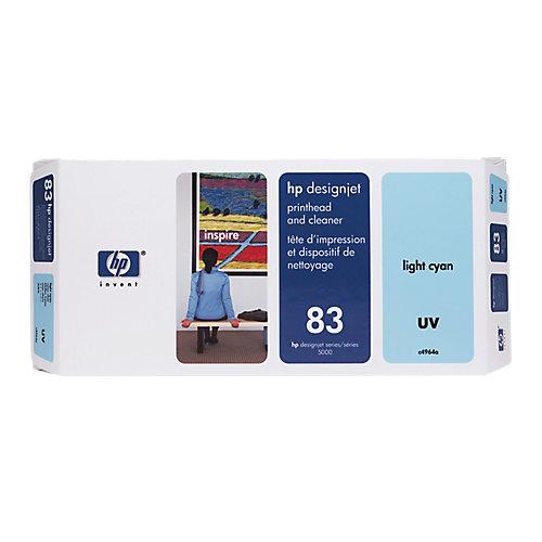 HP 83 - Inktcartridge / Cyaan + Cleaner