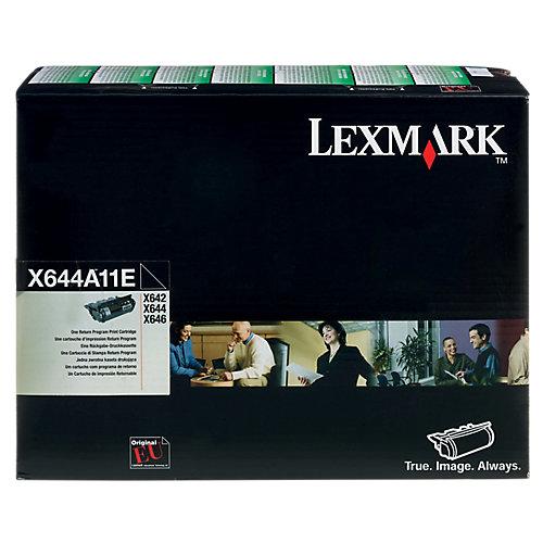 Lexmark 0X644A11E - Tonercartridge / Zwart