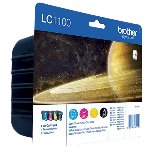 Brother LC-1100 BCMY XL Color Value Pack