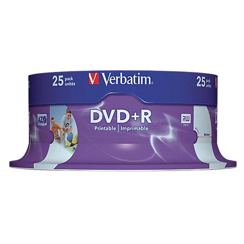 Verbatim DVD+R  43539 4.7 GB 120 min. 25 Stuks